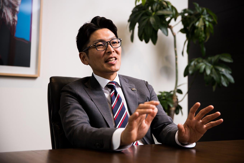 代表取締役社長 加藤久統