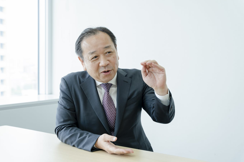代表取締役社長・鳥越慎二