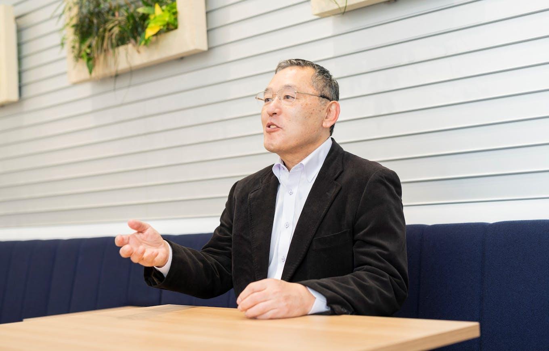 長尾 章代表取締役社長