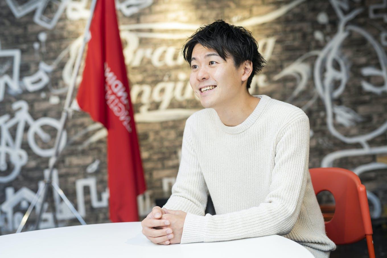 河端 保志代表取締役CEO