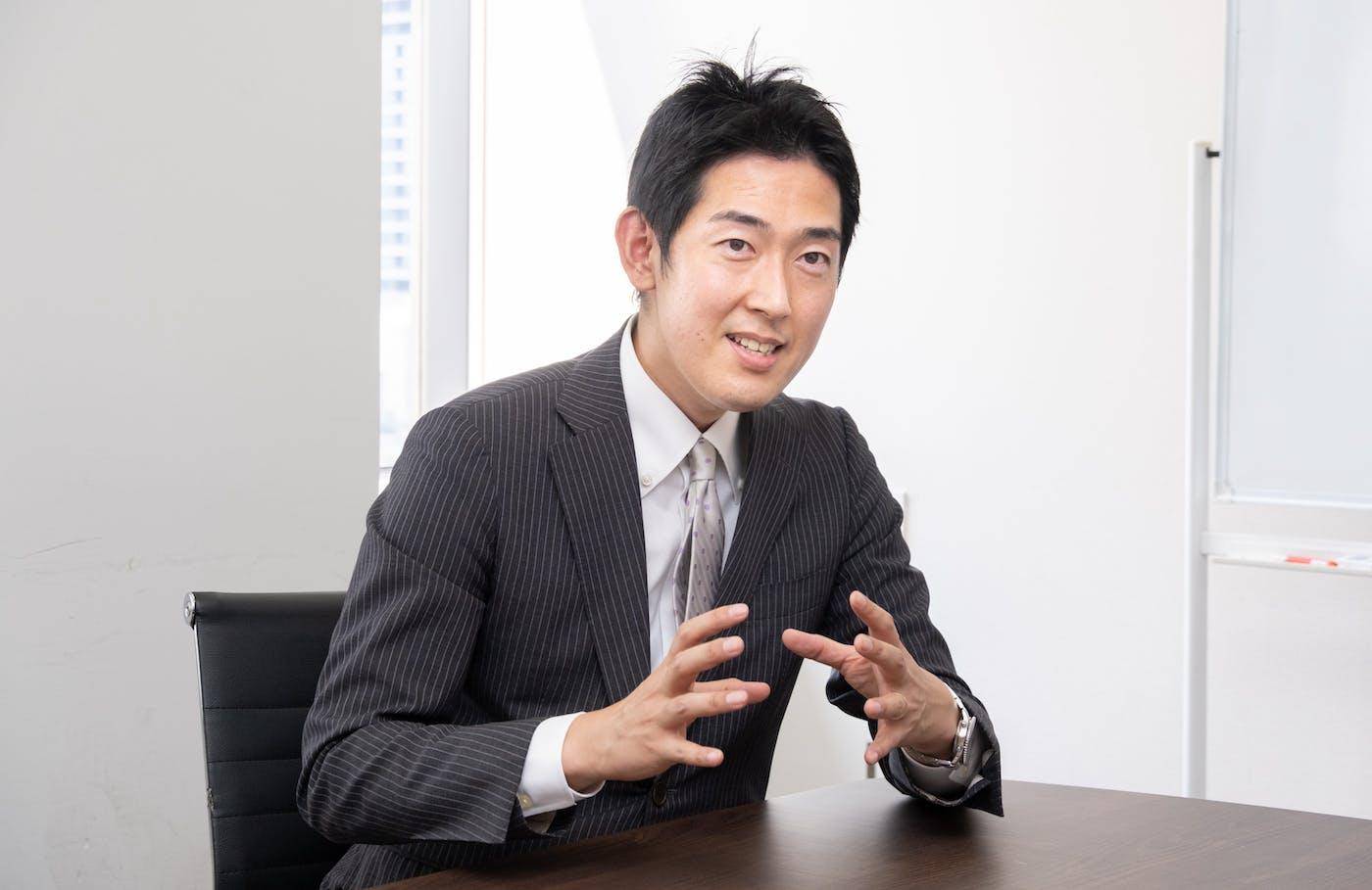 ウィルフ 代表取締役社長 黒石氏