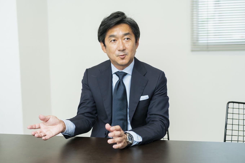 代表取締役社長・阿部 隆樹