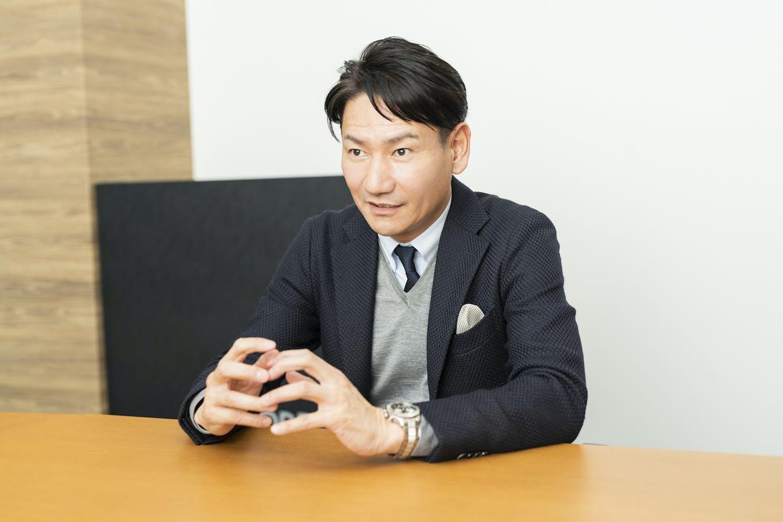 代表取締役社長・原口大輔