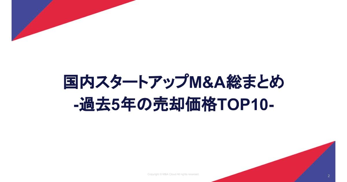 スタートアップM&A総まとめシート(2013~2018)