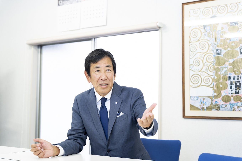 柴田 眞利代表取締役社長