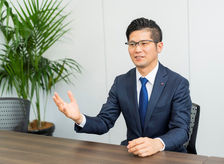 代表取締役社長・林雅也