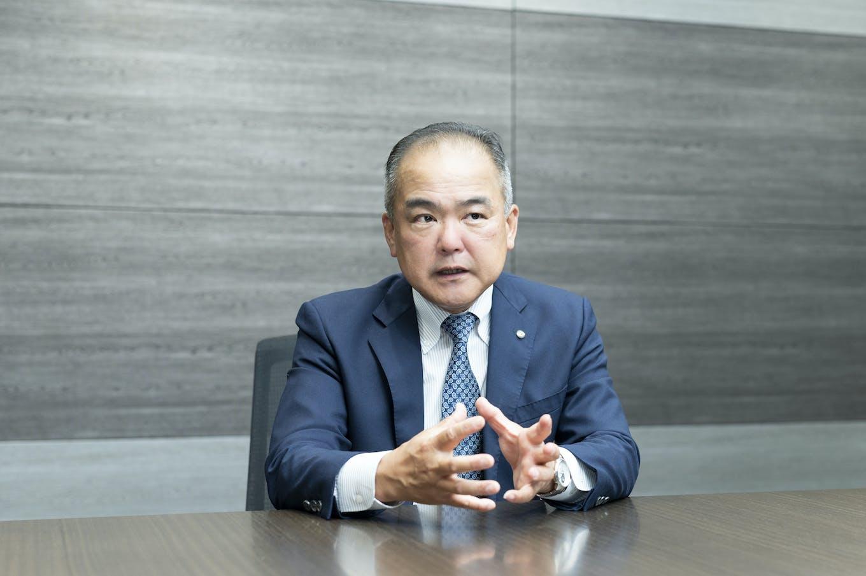 代表取締役社長 CEO兼COO・松山 晃一郎