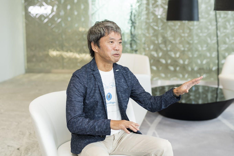代表取締役社長・青山 満