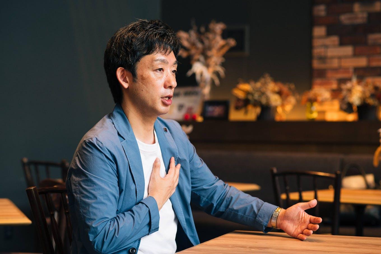 代表取締役社長・小野哲人