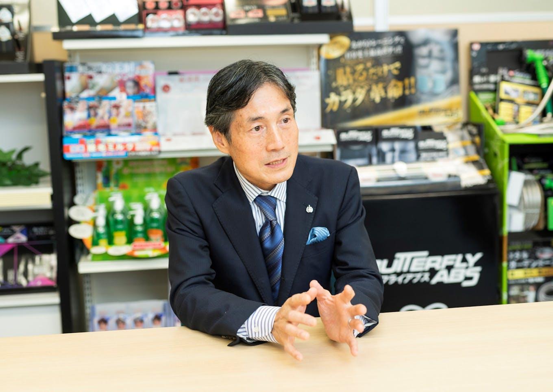飯田 裕代表取締役会長兼CEO