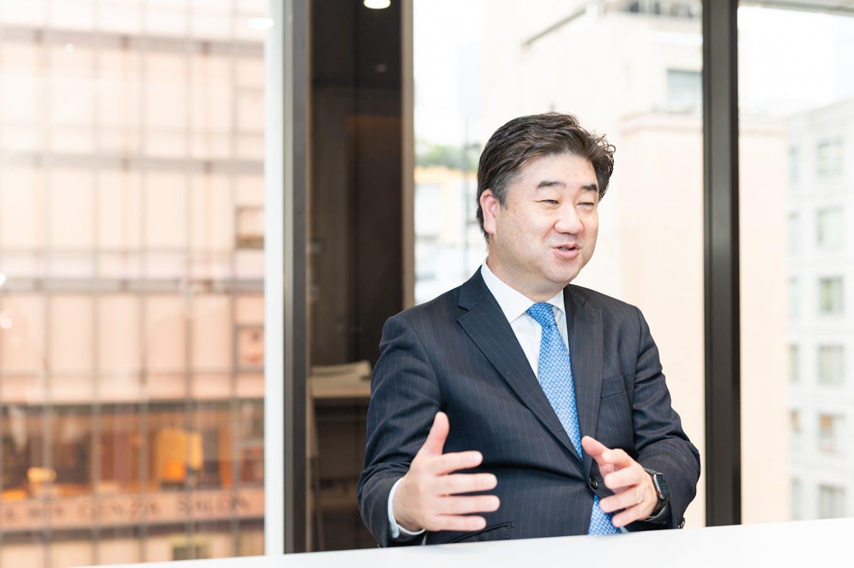 代表取締役社長・尾﨑 俊也