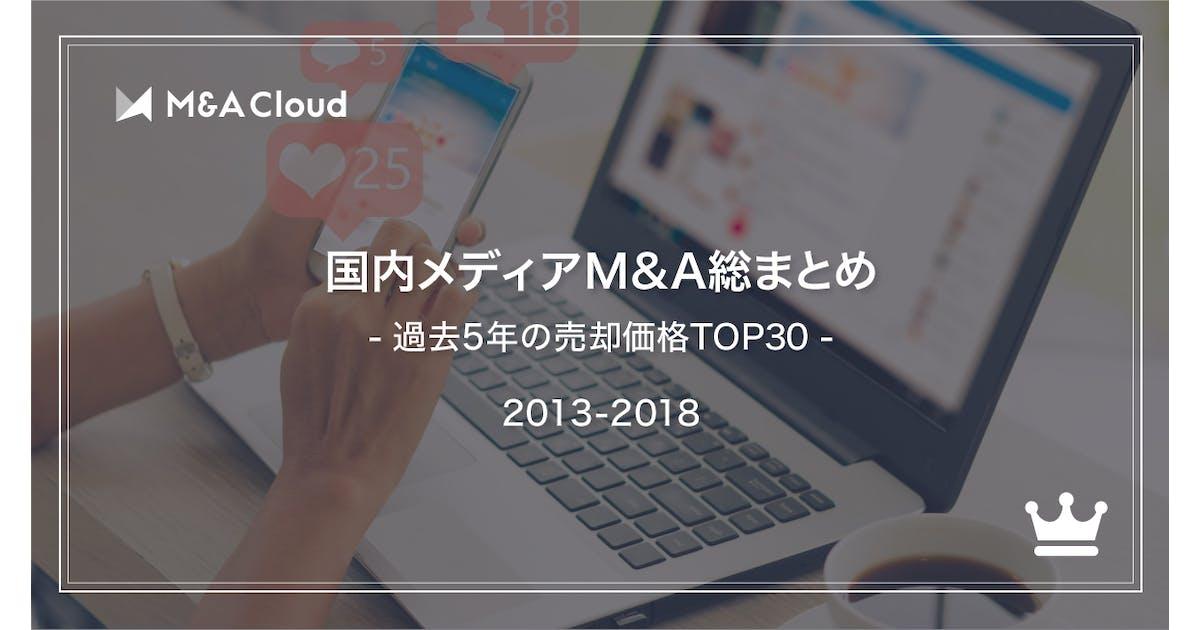 国内メディアM&A総まとめシート(2013~2018)
