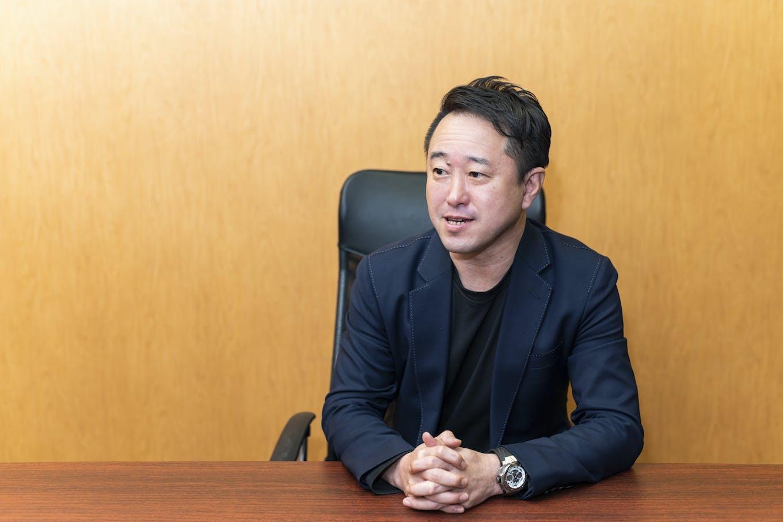 代表取締役社長兼CEO・佐野健一