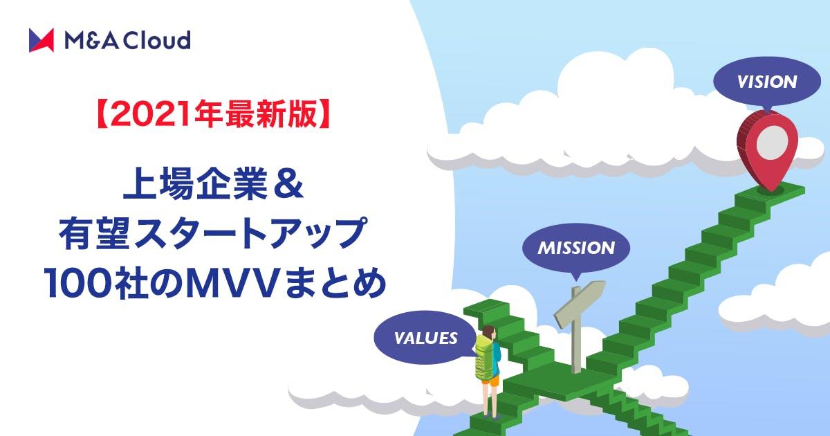 【2021年最新版】上場企業・有望スタートアップ100社のMVVまとめ