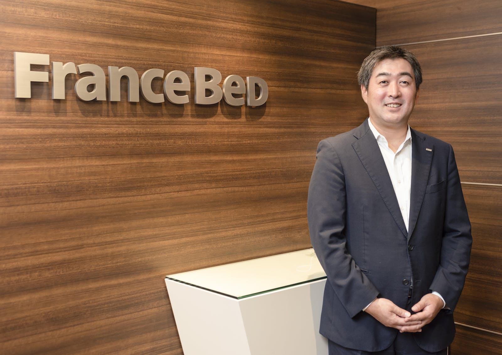 フランスベッド株式会社のアイキャッチ画像