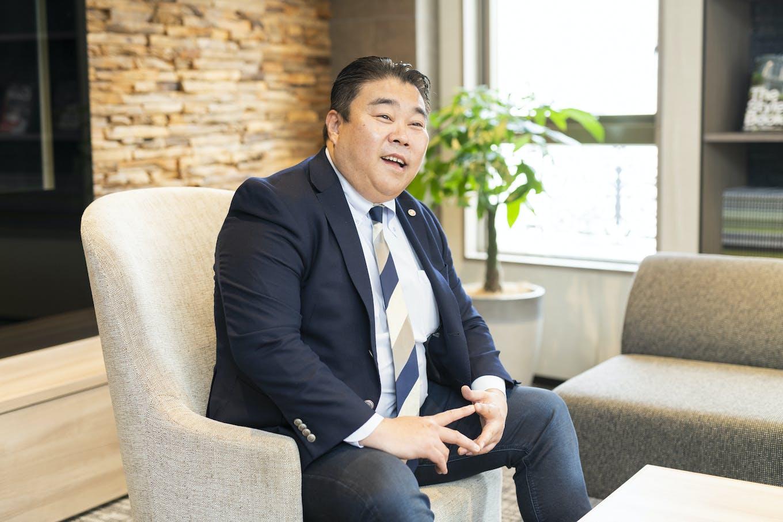 代表取締役社長・蜂谷二郎